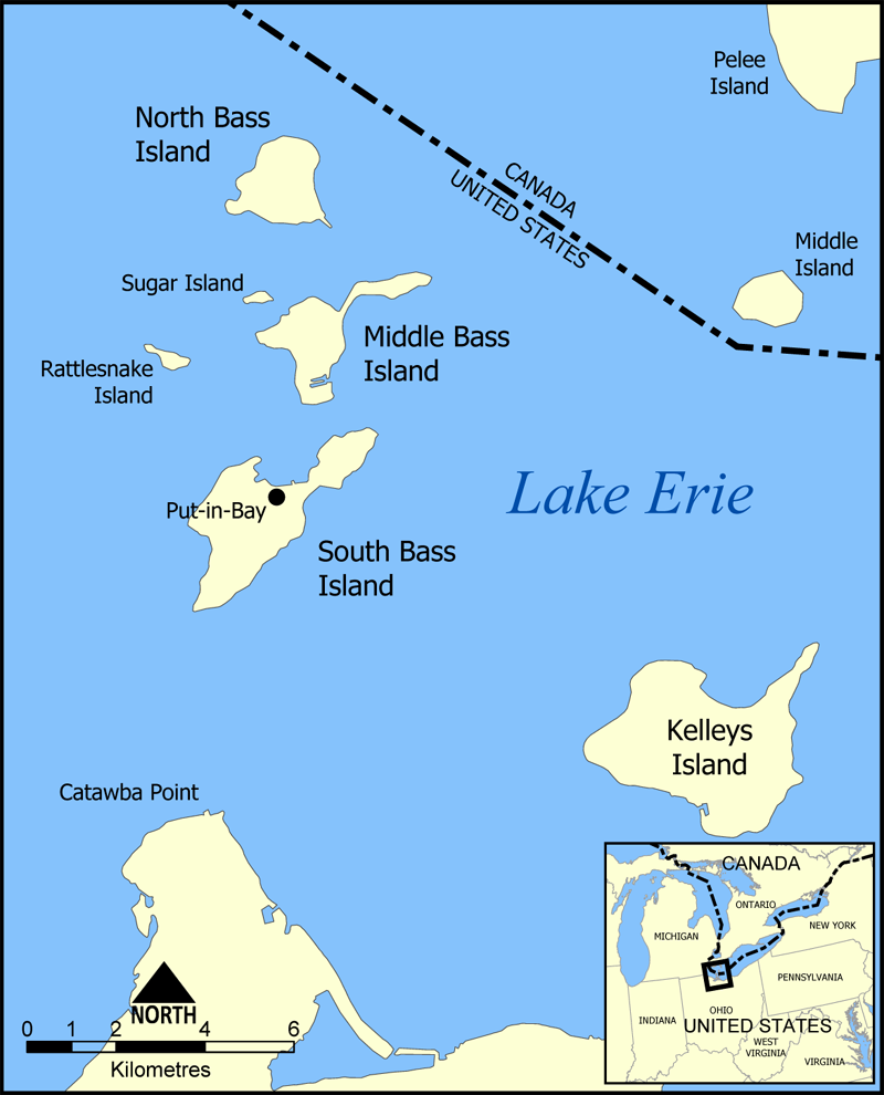 Map Of Lake Erie Islands The Lake Erie Islands Historical Society – Exhibits of the islands